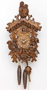 Relógio de Cuco<br>Corujas, esquilos, ninho