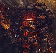 """Warhammer 40k, The Horus Heresy - """"The Warmaster Horus during the Horus Heresy."""""""