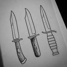 Dibujos De Cuchillos A Lapiz Buscar Con Google Tattoo Flash Sheet Traditional Tattoo Tattoos