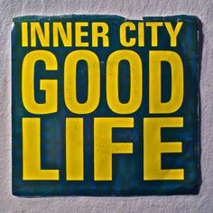 """Inner City - Good Life, """"Good Life"""" is a song by American house/techno group Inner City, featuring vocals by Paris Grey. The song was written and produced by Kevin Saunderson. It is often remembered for being played at dance clubs and on the radio Detroit Techno, Techno Music, American Houses, House Music, Stand Up, Life Is Good, Songs, Writing, City"""
