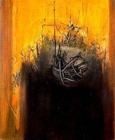 Emilio Scanavino, Nodo nero su giallo