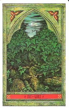 Ivy - Green Man Tree Oracle - Quirkeries ~ A Personal Tarot Book Of Days: December 2010