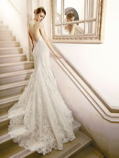 Wedding Dresses:   Illustration   Description   Low criss cross back on this beautiful lace wedding dress by Moonlight Bridal    -Read More –   - #WeddingDresses https://adlmag.net/2018/01/01/wedding-dresses-inspiration-low-criss-cross-back-on-this-beautiful-lace-wedding-dress-by-moonlight-bridal/
