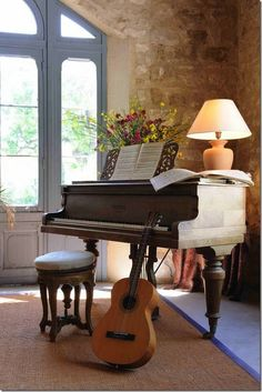 music room...love this