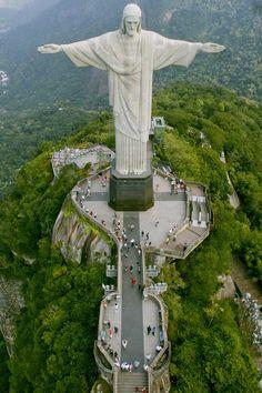 ブラジル リオデジャネイロ キリスト像