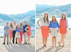 Rebekah Westover Photography: she is a wiz with the camera! Family Photo Colors, Family Beach Pictures, Family Pictures, Family Posing, Family Portraits, Family Photography, Photography Tips, Jackson Family, Utah Wedding Photographers
