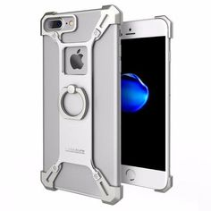 New iPhone 7 Plus fashion slim metal case with style for the savvy users. Fits well into workout and gym clothes. Great gifts products for home and car iPhone 7 Plus owners, gizmos lovers, current smartphone and cellphone owners and those who are active in health and fitness and travel  #tech