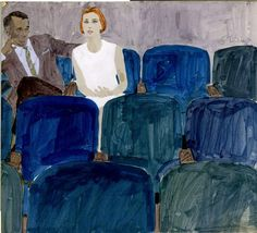 Bernie Fuchs Sketch by mattdicke, via Flickr