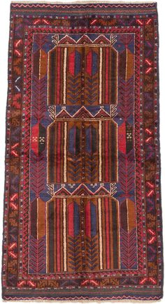 Hand Knotted Camel & Navy wool rug ($165)