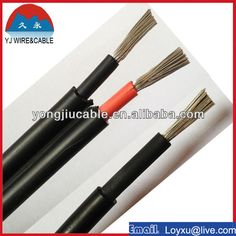 solar cable 4mm2 solar cable 6mm2 for solar cell with tab wire solar power system $0.2~$5