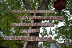 Make outdoor signs for weddings, baby showers etc for guest to know where to go. Use a 2x2 and pickets and paint away!
