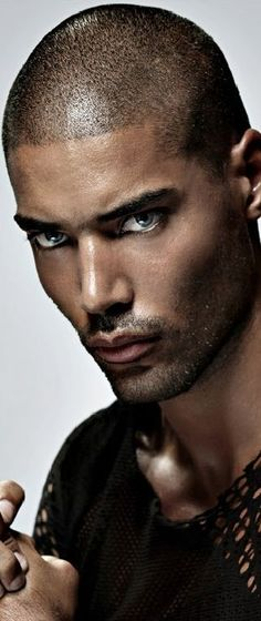 : Willy Monfret male model about face 2016 Gorgeous Eyes, Black Is Beautiful, Beautiful People, Face Men, Male Face, Handsome Black Men, Hommes Sexy, Moustaches, Good Looking Men