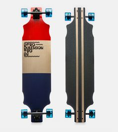 Dimension Two Longboards by Gregor Zakelj, via Behance #skate #board #skateboard