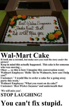 Walmart...only at walmart...