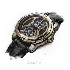 TIMEPIECES - collection - Photoshop CC on Behance