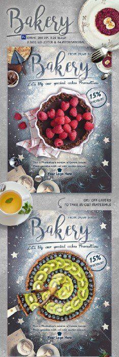 Bakery Promotion Flyer Template - 15854476
