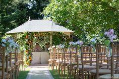 Aisle Flowers, Wedding Flowers, Summer Wedding, Dream Wedding, Gazebo, Pergola, Florists, Somerset, Bristol