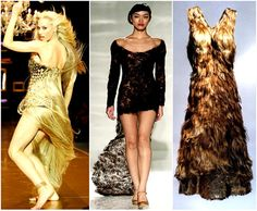 ~Dresses made from real human hair~