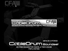 cool CFA-Sound CableDrum - U-He ACE Soundset VST Crack FREE Download