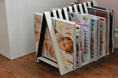 Porta Revistas ~ Arte De Fazer | Decoração e Artesanato
