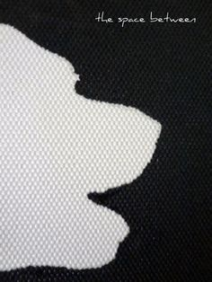 how to make your own canvas silhouettes without vinyl or a cameo/silhouette