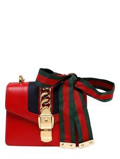 Mini Sylvie Leather Chain Shoulder Bag Gucci Source: http://www.closetonthego.com/e-shop-product/211062/mini-sylvie-leather-chain-shoulder-bag/ © Closet On The Go