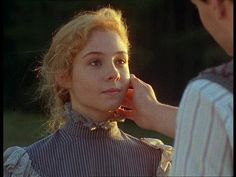 Anne Shirley: Aren't you worried? I'm liable to break another slate over your head.   Gilbert Blythe: I'm more worried I might break one over yours, carrots.    Gilbert Blythe: I'll walk you home.