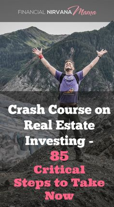 How to Invest in Real Estate Series: 85 Actionable Steps to Becoming a Real Estate Investor & Feeling Like a Pro Crash course on Real Estate Investing - 85 actionable steps to take now to be a much better real estate investor Real Estate Business, Real Estate Investor, Real Estate Marketing, Selling Real Estate, Real Estate Tips, Real Estate Courses, Becoming A Realtor, Real Estate School, Getting Into Real Estate