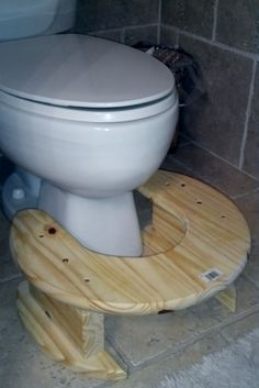Stooling Stool Step  Why would I want to use one?  Many years ago and still today many squat to defecate. Now, with the development of TOILETS, we westernized people forgot (may never have known) about the power of squatting to have healthy bowel movements. http://pathwaysholistic.com/stool-step/