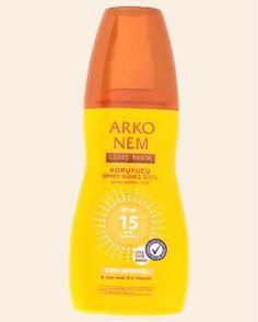 ARKO Nem Koruyucu Sprey Güneş Sütü GKF 15 150 ml