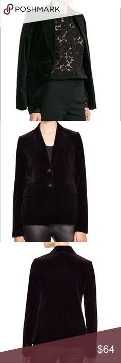 [Theory] Black velvet blazer Black velvet blazer by Theory.  Excellent condition. Theory Jackets & Coats Blazers
