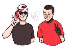 It's a bromance, not a joshler romance, guys. They're just best frens.
