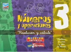 """Cuaderno """"Números y Operaciones 3"""", de Ediba, dedicado a la resolución de problemas de suma y resta sin llevar para el Primer Ciclo de Educación Primaria."""