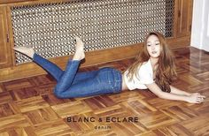Jessica Jung has revealed a video clip showcasing her fashion brand's 2015 Denim collection. The former Girls' Generation member can be seen modeling for the denim collection. Jessica Jung Instagram, Jessica Jung Snsd, Jessica Jung Fashion, Jessica & Krystal, Krystal Jung, Jessica Girls Generation, Blanc And Eclare, Mundo Musical, Ice Princess