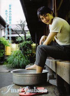 Imai Tsubasa of Tackey & Tsubasa.
