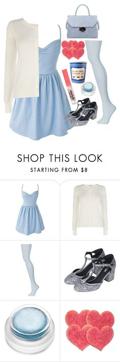"""""""Call Her Moon Child"""" by doe-eyed-nymphet ❤ liked on Polyvore featuring Oasis, Topshop, rms beauty, Väska, Blue, Layla, nymphet, nymphetfashion and buffalo66"""