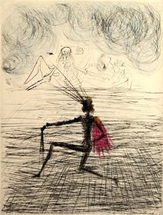Salvador Dali - Faust, 1969