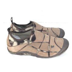 604635f674968 C12 Merrell Mosaic Chocolate Camo Womens 7 Slip On Moc Walking Hiking Shoes  #fashion #