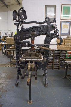 A fine looking Columbian press