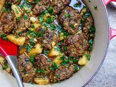Kjøttkaker med sellerirot og syrlig saus / Et kjøkken i Istanbul