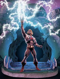 80 Cartoons, Animated Cartoons, He Man Tattoo, He Man Desenho, 80s Cartoon Shows, He Man Thundercats, Hee Man, Pop Culture Shock, 3d Modelle