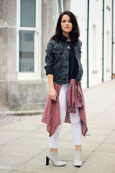 So Jeans grey denim jacket 1 by Magpie132, via Flickr