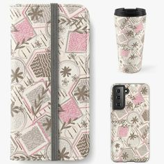 Travel Mug, Phone Cases, Mugs, Patterns, Design, Block Prints, Tumblers, Mug