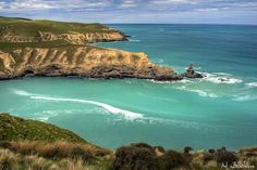 Te Oka Bay by NathanaelB, via Flickr