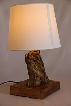 TreibKunst Design Tischlampe aus Treibholz BALTIC LOG - Unikat Made in Germany, Massives Holz von der Ostsee in Handarbeit – mit LED – Tischleuchte: Amazon.de: Handmade