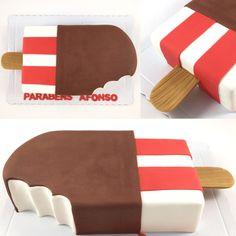 Bolo Perna de pau, ice cream cake