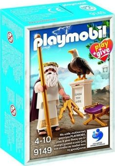 PLAYMOBIL 9149 PLAY & GIVE ZEUS DIOSES GRIEGOS (EDICION GRIEGA) http://www.playmundo.es/playmobil-9149-play--give-zeus-dioses-griegos-edicion-griega-10432-p.asp