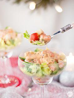 Jaleo en la Cocina: Cóctel de gambas, el aperitivo perfecto para estas fiestas