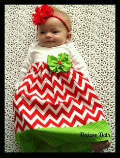 Christmas dress.  Make for the girls.