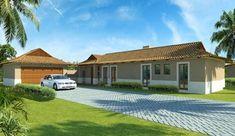 Bali Style 192m²Eastern Entrance House Plan